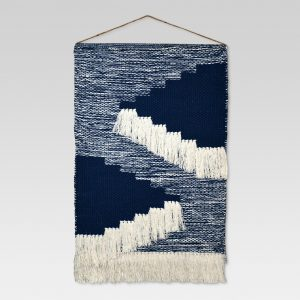 Woven Wall Hanging – Blue (18″x31″) – Threshold™