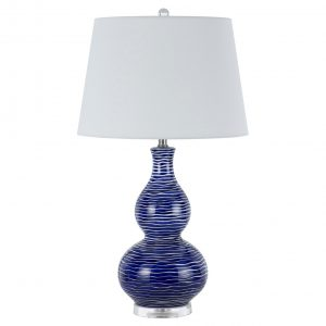 Way Payson Ceramic Table Lamp 150w 3 Blue
