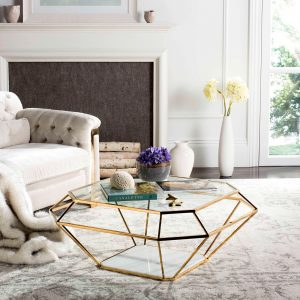 Coffee Table Gold – Safavieh