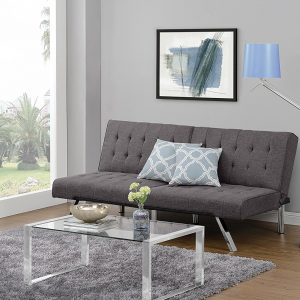 Futon Sofa Bed, Modern Convertible Couch