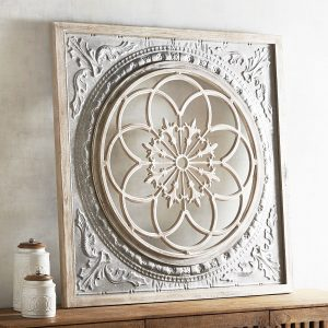 Galvanized Medallion Wall Decor