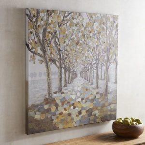 Moonlit Path Tree Art