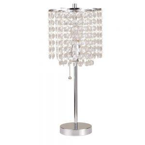 Chrome Deco Glam Table Lamp