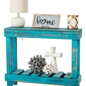Turquoise Barn Console / Entry Table