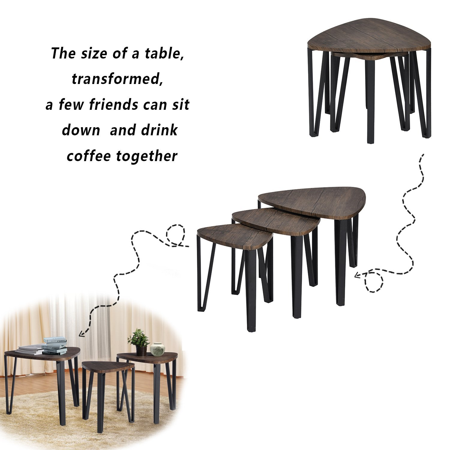 Nesting Everything Table Complete Decor Supply