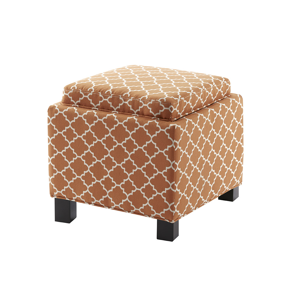 shelley square storage ottoman with pillows complete decor supply. Black Bedroom Furniture Sets. Home Design Ideas